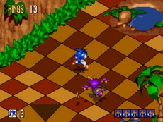 Sonic Mega Collection in-game