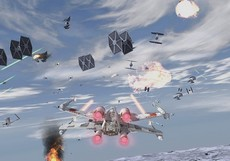 Star Wars Rebel Strike : Rogue Squadron III in-game
