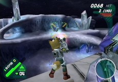 Starfox Assault in-game