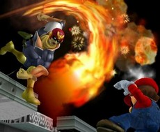 Super Smash Bros Melee in-game