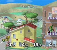 Super Smash Bros Melee in-game