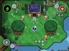 The Legend Of Zelda : Four Swords Adventures in-game