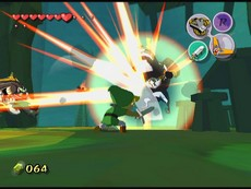 The Legend Of Zelda : The Wind Waker in-game