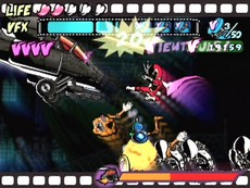 Viewtiful Joe in-game