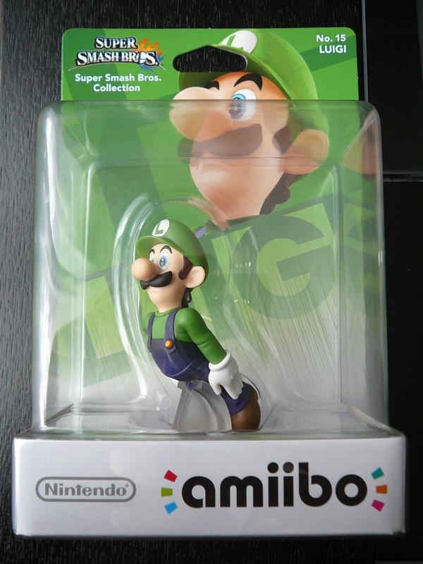 Amiibo n°15 Luigi