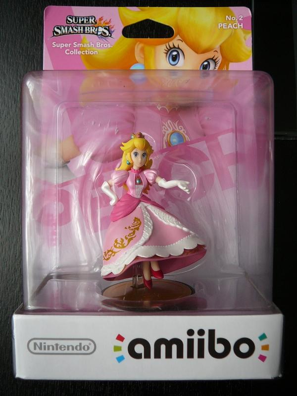 Amiibo n°2 Peach