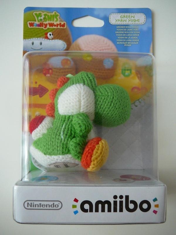 Amiibo Yoshi's Wooly World - Yoshi Laine Vert