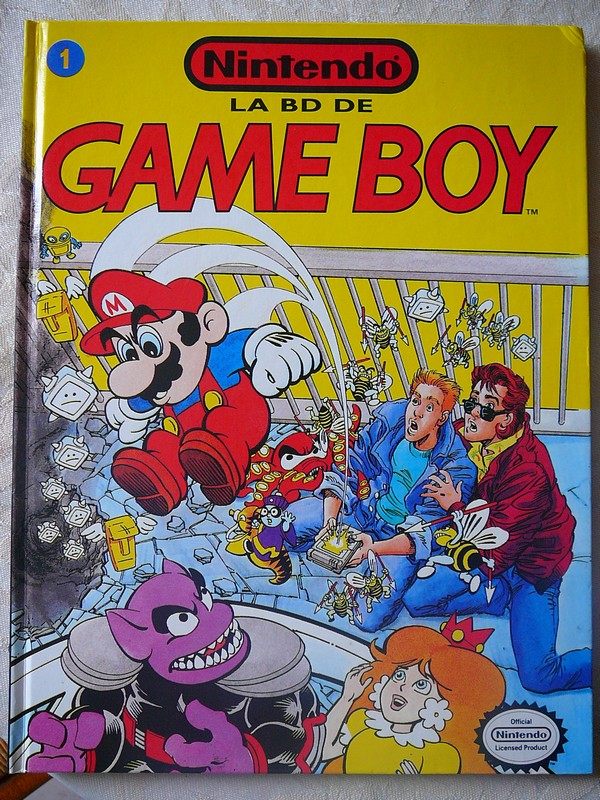 BD Nintendo n°1 : Game Boy