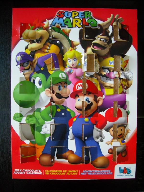Calendrier de l'avant Nintendo