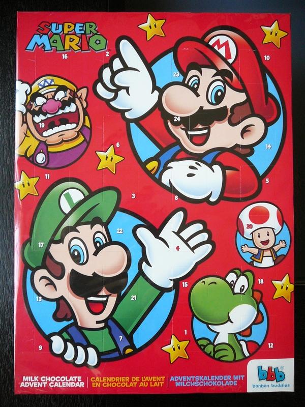 Calendrier de l'avant Nintendo 2013