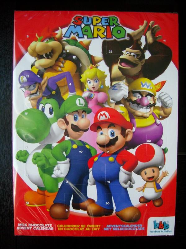 Calendrier de l'avant Nintendo 2012