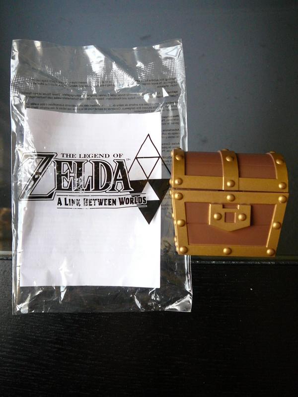 Coffre musical The Legend of Zelda : A Link Between Worlds