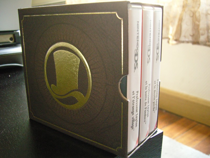 Coffret Professeur Layton - Club Nintendo France 2010