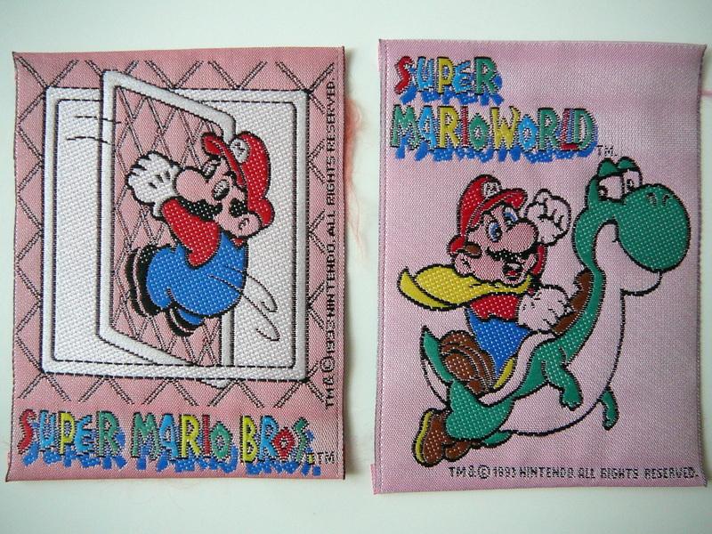 Écussons Super Mario
