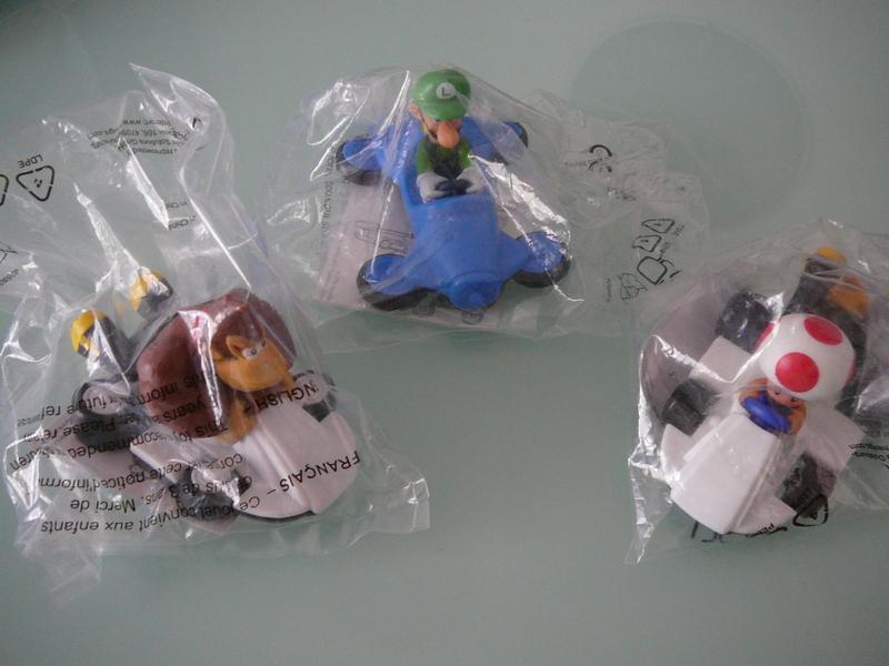 Figurines McDonalds série Mario Kart 8