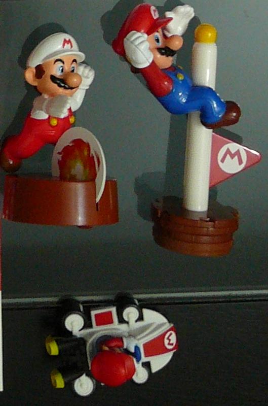 Figurines McDonalds Série Super Mario