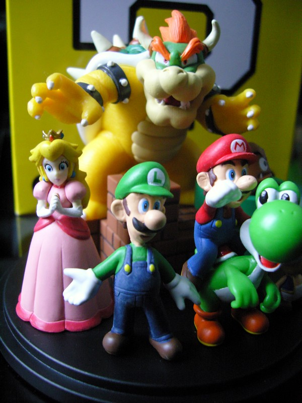 Figurine Super Mario Club Nintendo