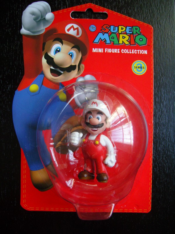 collection figurines Super Mario - série 3 - Mario-de-feu