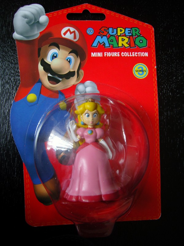 collection figurines Super Mario - série 3 - Peach