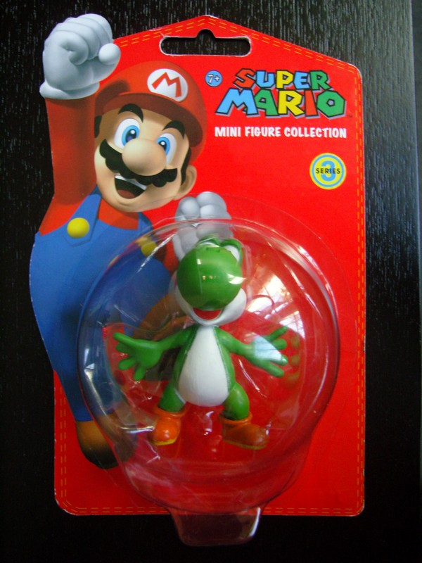 collection figurines Super Mario - série 3 - Yoshi