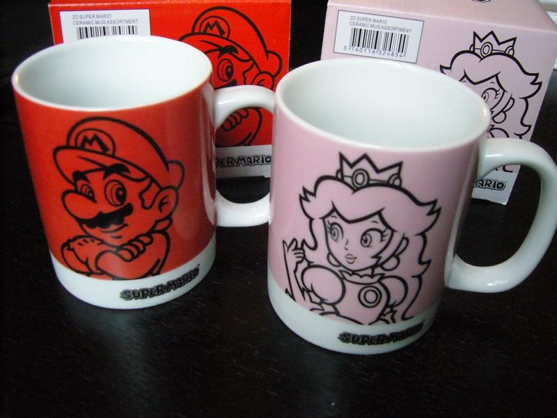 Mugs Mario et Peach