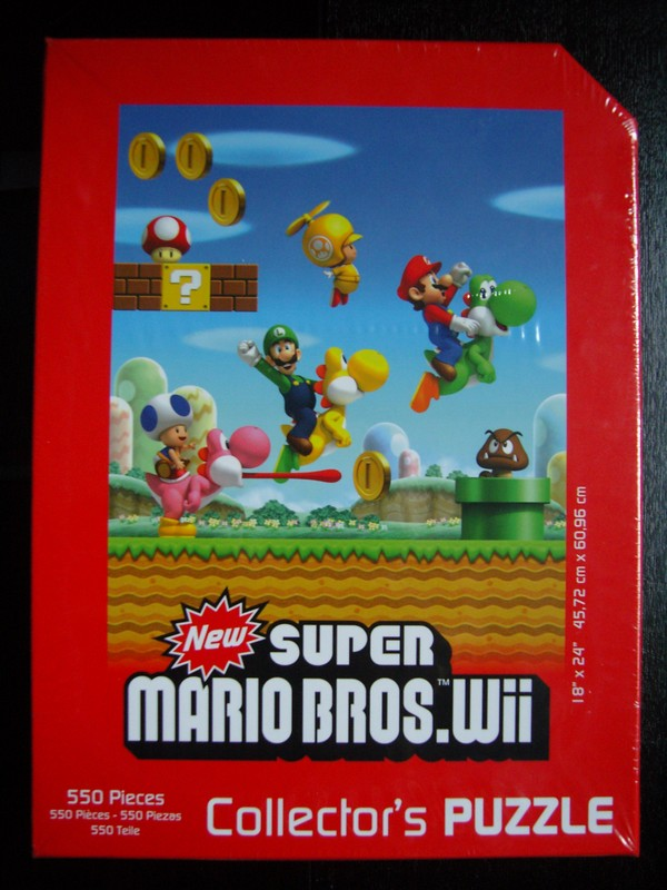 New Super Mario Bros. Collector's Puzzle