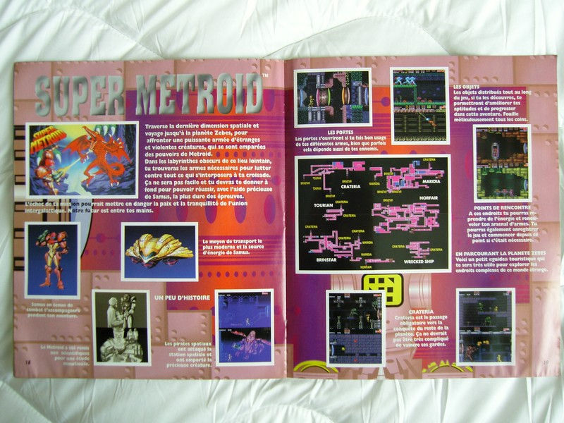 Panini Nintendo - super Metroid