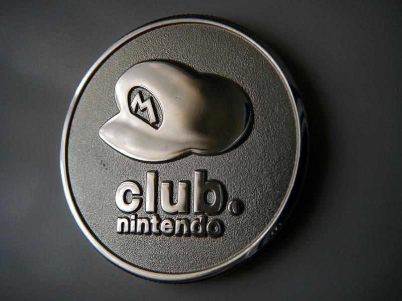 Pièce commémorative Club Nintendo
