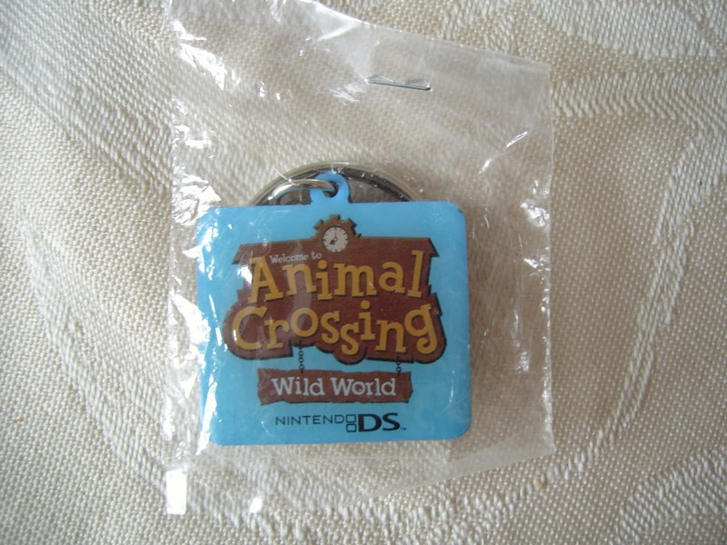 Porte-clef Animal Crossing Wild World