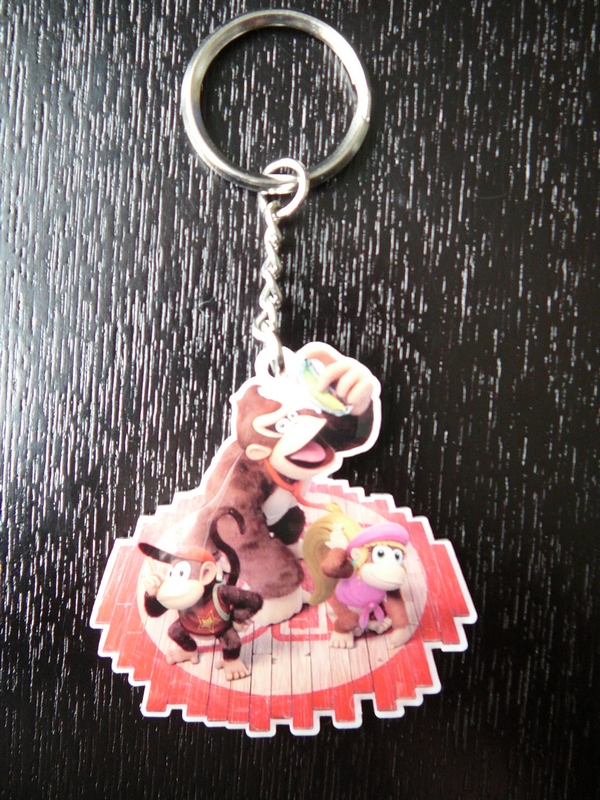Porte clef Donkey Kong Country Tropical World