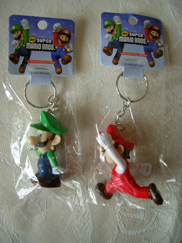 Porte-clefs New Super Mario Bros.