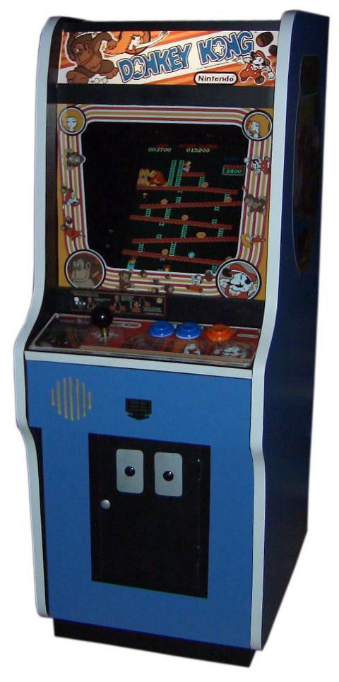 Borne d'arcade Donkey Kong