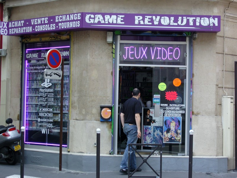 Game Revolution rue de Malte