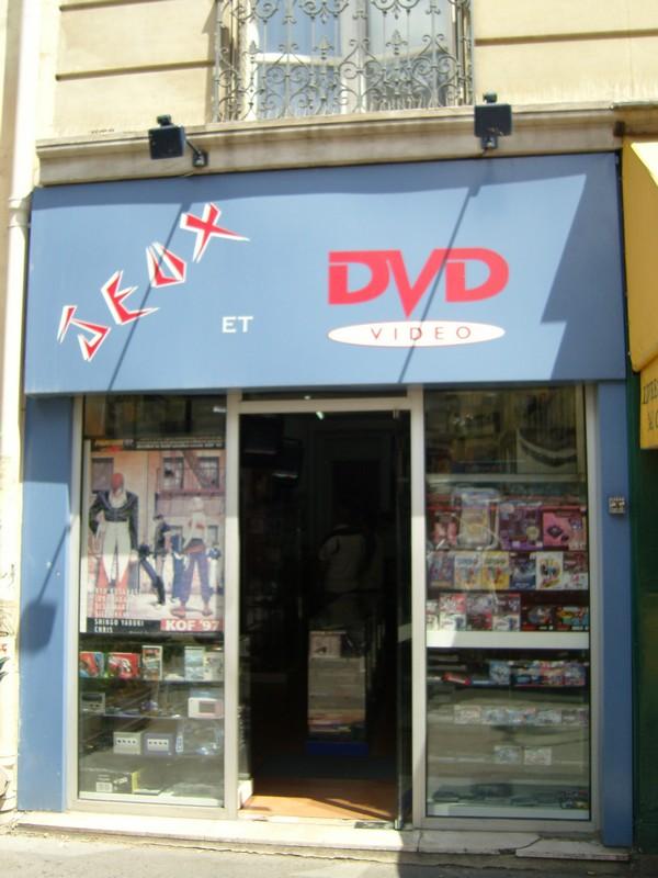 Jeux et DVD rue des Ecoles