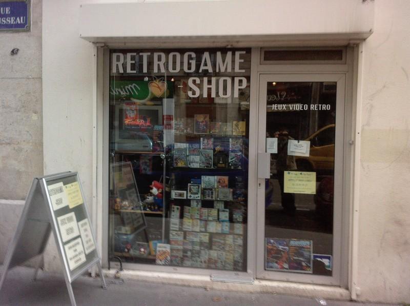 Retrogame Shop rue Trousseau