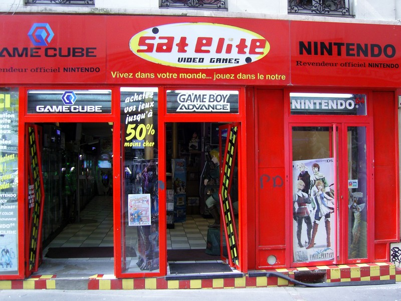 Boutique rétrogaming parisienne ???? Sat-Elite-Nintendo