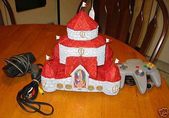 N64 Princess Peach Castle