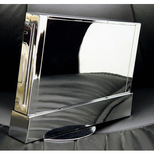 Wii Case Chrome