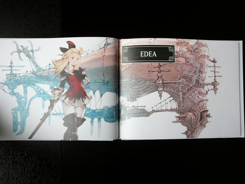 Artbook Bravely Default