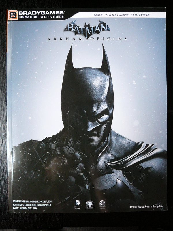 Guide Batman Arkham Origins