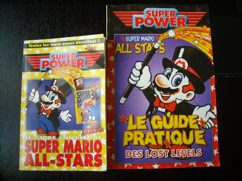 Guides Super Mario All-Stars et The Lost Levels