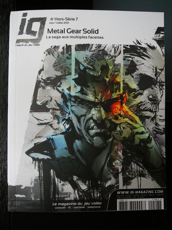 IG Mag #Hors-Série 7 Juin/Juillet 2013 Metal Gear Solid