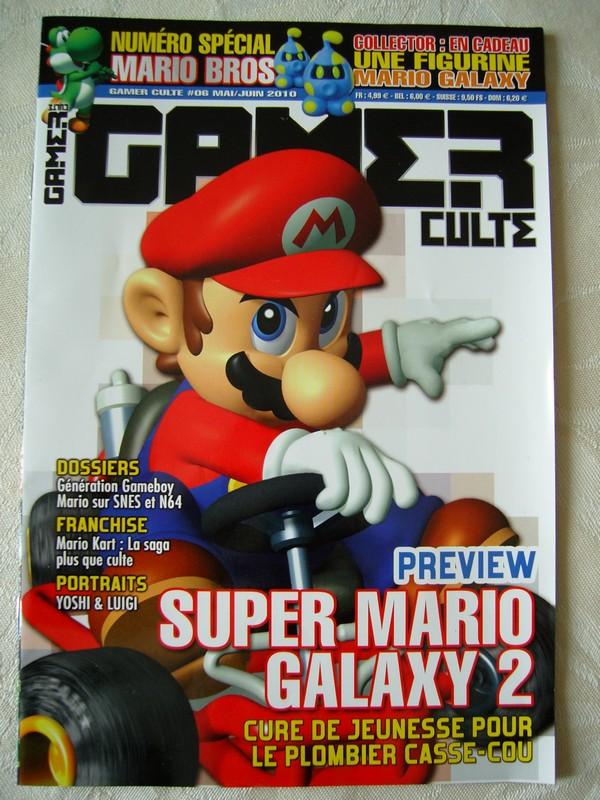 Gaùer Culte n°6 : Mai/Juin 2010 - numéro spécial Mario Bros