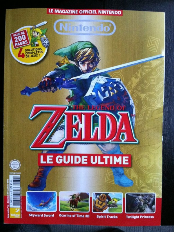 "Nintendo Le Magazine Officiel Hors-série n°36 : ""The Legend Of Zelda - le guide ultime"""