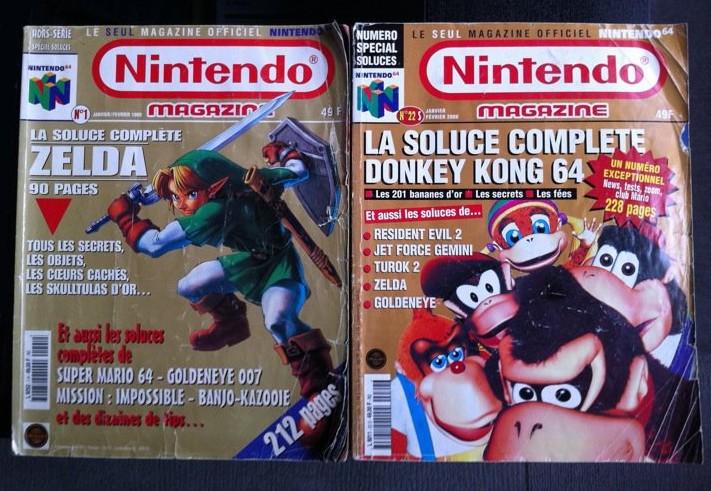 Scans de soluces (scans provenant du site Nintendo Museum)