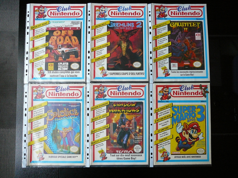 Magazines Club Nintendo 1991
