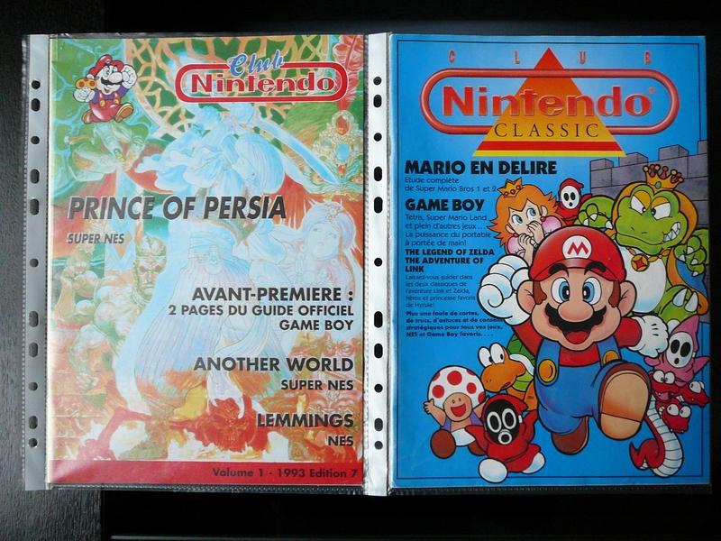 Magazines Club Nintendo 1993 et hors-série