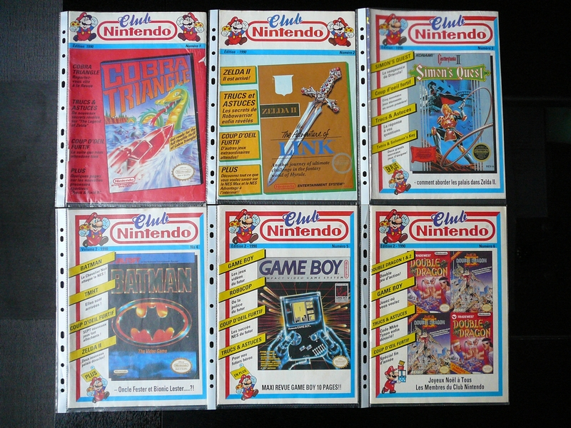 Magazines Club Nintendo 1990