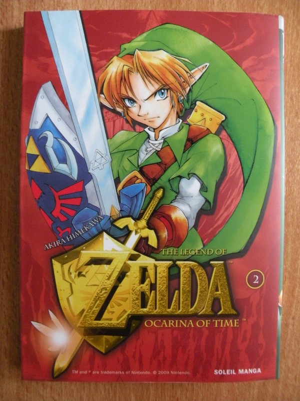 Manga The Legend Of Zelda : Ocarina Of Time vol.2