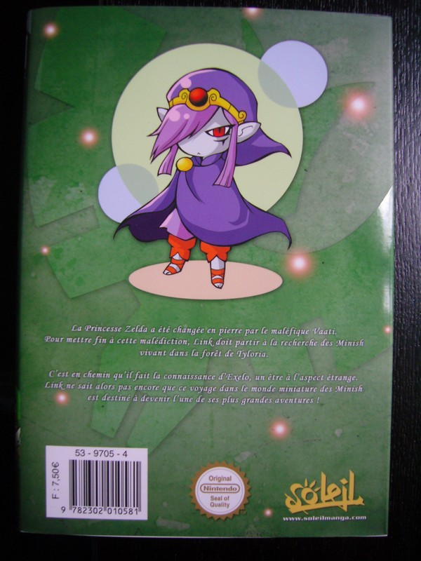 Manga The Legend Of Zelda : The Minish Cap